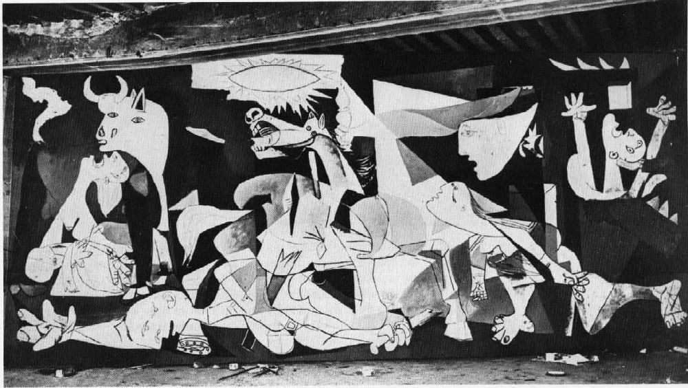 extreme human emotions as consequences of war in guernica a painting by pablo picasso