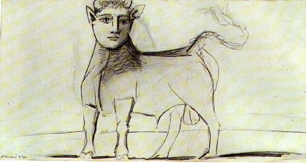 Line Art By Picasso : Picasso s war art