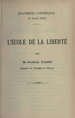 Frédéric Passy and