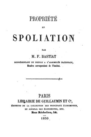 Bastiat_1850_Propriété_et_spoliation_TP
